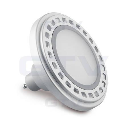 Żarówka LED ES111 G10 12W zamiennik halogenu 63W 230V AC 850lm 120°mleczna, biała ciepła