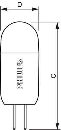 Żarówka LED Philips CorePro LEDcapsuleLV 1,2-10W 830 G4