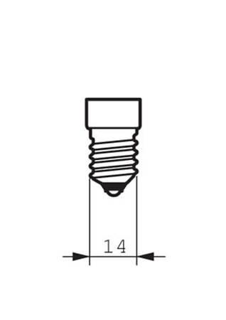 Żarówka LED Philips CorePro lustre 5,5-40W E14 827 470lm P45 Clear Biała ciepła